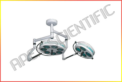 surgical-operating-lights-ceiling-7+4-reflector-supplier-manufacturer-in-delhi-india